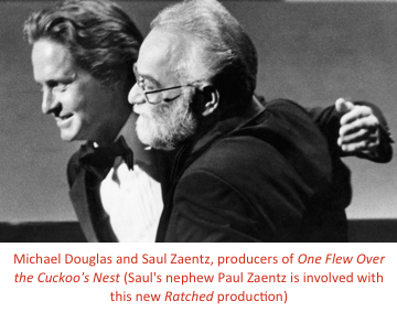 Michael Douglas and Saul Zaentz
