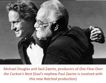 Michael Douglas and Saul Zaentz