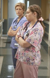 Nurse Jackie and Zoey