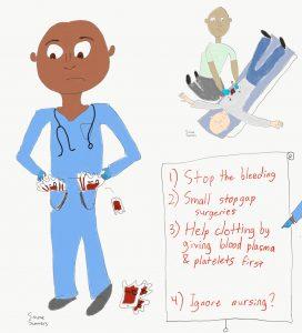 Las Vegas shooting nursing care