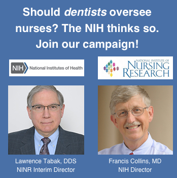 Dentist assumes NINR interim director post