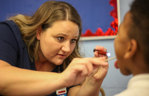 Nurse Rachel Norris