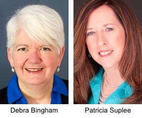 Debra Bingham and Patricia Suplee