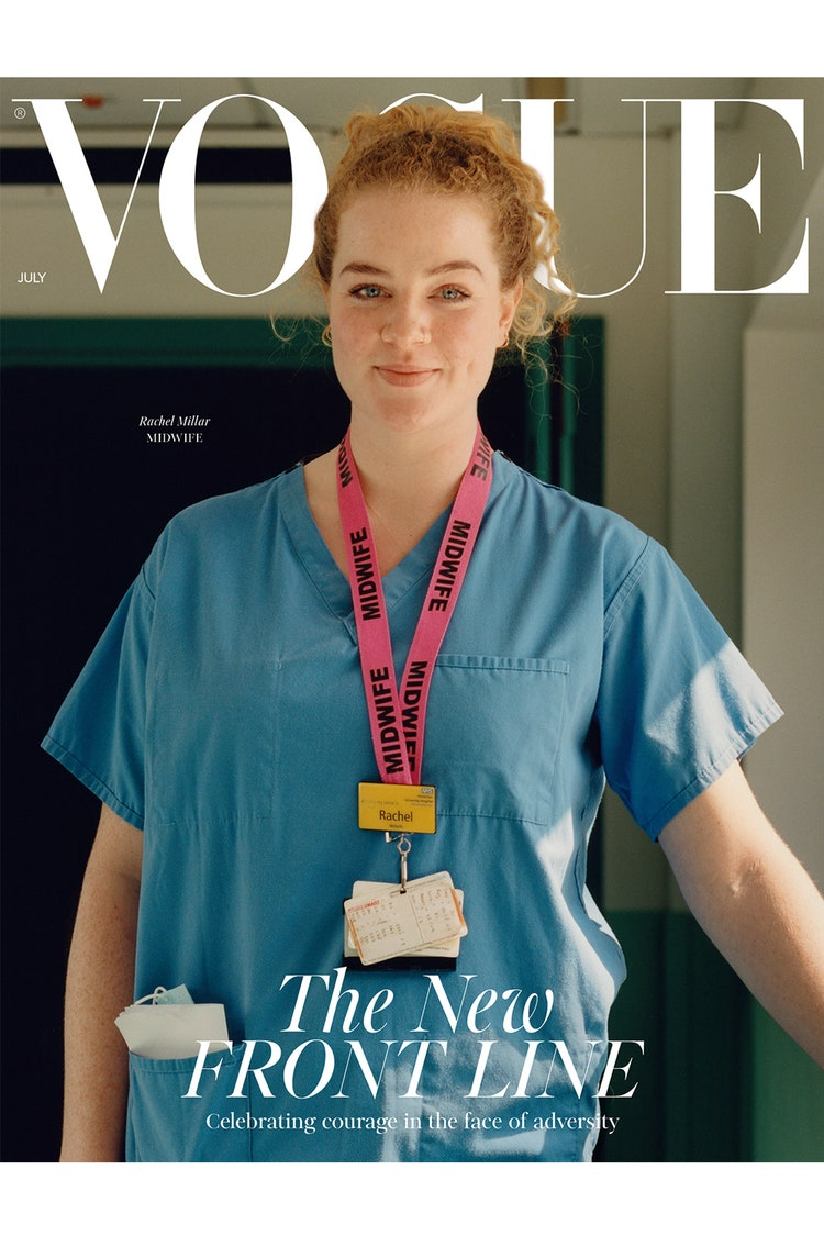 Nurse on cover of Vogue